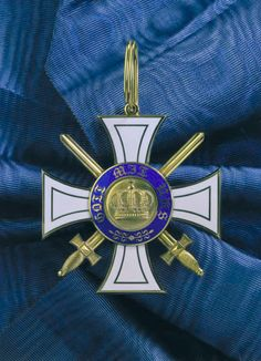 Order of Crown of Prussia Military Ranks, Military Orders, World War One, First World, Uniform Insignia, Olympic Medals, Emblem, History, Danzig