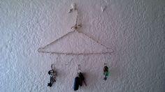 Homemade key hanger