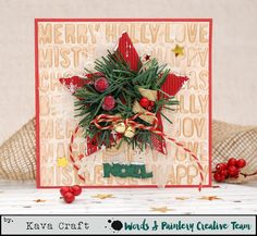 KAVA Craft: Christmas Card