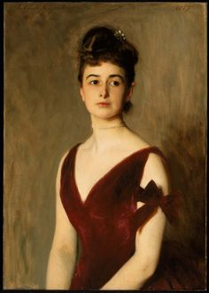 Mrs. Charles E. Inches (Louise Pomeroy)  1887 John Singer Sargent | Museum of Fine Arts, Boston