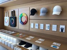 Apple Park: Normal people like you can now visit - CNET Mobile Shop Design, Shop Shelving, Electronic Shop, Vintage Industrial Furniture, Industrial Style, Store Interiors, Space Saving Furniture, Closet Designs, Coffee Quotes