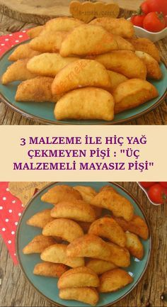 ok az malzeme ile yapaca n z mayas z puf puf bir hamur k zartmas tarifi Homemade Flour Tortillas, Turkish Breakfast, Puff Pastry Recipes, Few Ingredients, Dry Yeast, Dough Recipe, Fritters, Meat Recipes, Food And Drink