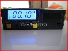 360degree Digital inclinometer protractor digital anger finder Angle Gauge horizontal Bevel Box .