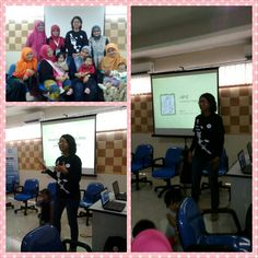 Seminar mini bersama komunitas jajanan depok dan hijabers : diet untuk ibu menyusui
