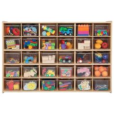 Don't get overwhelmed by craft time; get organized with the Contender 30 Bin Storage with Optional Bins . This marvelous storage unit is perfect. Kids Room Organization, Playroom Organization, Playroom Ideas, Playroom Table, Playroom Decor, Clear Bins, Diy Rangement, Toy Rooms, Storage Bins