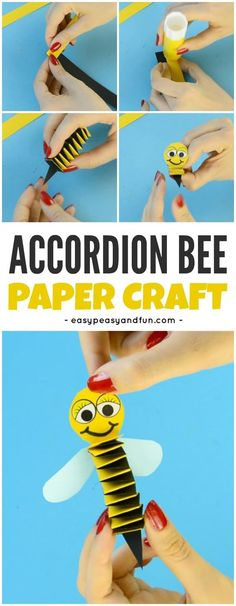Fun Accordion Paper Craft for Kids for Kids to Make