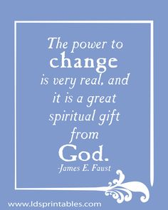 The power to change- ONLY God can transform a heart in amazing miraculous ways!