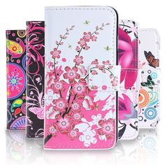 3.98$  Know more - Fashion Cartoon pattern Leather Case for Sony Xperia L S36H C2105 C2014 Flip Wallet Phone Case Cover With Card Holders   #buymethat