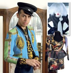 El mundo de Santiago Artemis. En su adolescencia, el diseñador captó la atención del fashion system con excéntricos estilismos. A punto de lanzarse al ruedo con marca propia, nos abre las puertas de su atelier.