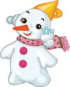 Bébé bonhomme de neige