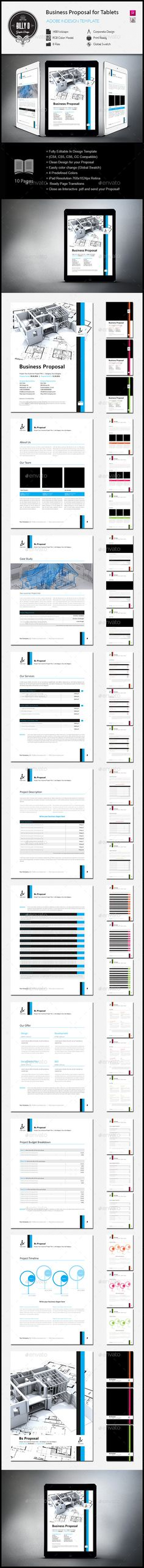 Business Proposal Template for Tablets Business proposal - download business proposal template
