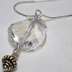 Mothers Day SWAROVSKI Necklace Pendant Crystal by PrittyfyJewelry, $33.00