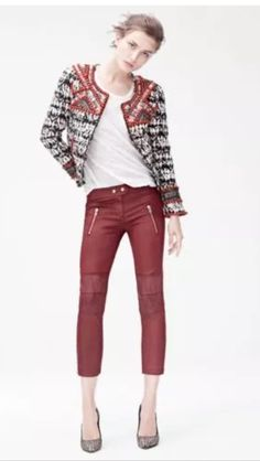 Isabel Marant for H&M red jeans