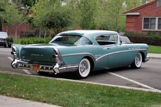 Buick Roadmaster hardtop coupe. 1957. Beautiful