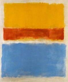 untitled (yellow, red + blue) - 1953 - Mark Rothko