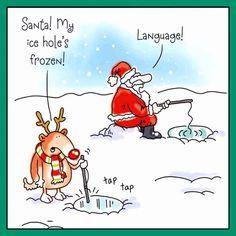 Dan Ramos Google Christmas Comics Christmas Jokes Christmas Cartoons Holiday Puns