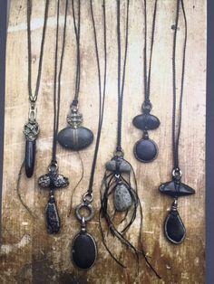 Rock Jewelry, Leather Jewelry, Stone Jewelry, Pendant Jewelry, Diy Jewelry, Beaded Jewelry, Handmade Jewelry, Jewelry Necklaces, Jewelry Design