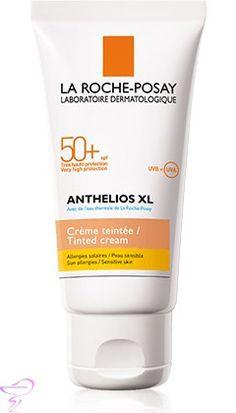 Anthelios XL 50+ Crema Pantalla Coloreada de La Roche Posay está indicada para pieles con intolerancia solar que estén expuestas en condiciones extremas al sol. http://www.cuidadosfarmaceuticos.com/solares/anthelios-xl-50-crema-pantalla-coloreada-la-roche-posay-50-ml.html