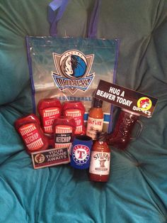 Your friends don't love you enough to send you a care package that looks like this:   24 Things No One Tells You About Leaving Texas