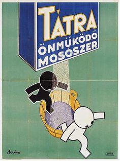 Bereny_tatra20130603-19838-18kvks7.gallery Vintage Advertising Posters, Vintage Advertisements, Vintage Posters, Modern Posters, Retro Posters, Ad Art, Illustrations And Posters, Illustrators, Poster Prints