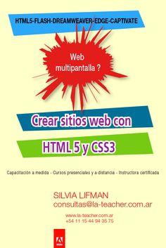 Crear sitios web con HTML 5 y CSS3