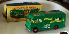 Matchbox racing car transporter