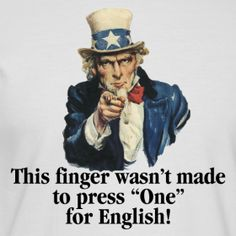 Some out there cannot accept that the good ol' U.S. of A is now the second-largest Spanish-speaking country in the world and NOTHING can stem this tide… Bilingual America isn't anything new either as parts of this great land had citizens living in it who were speaking Español waaaayyyyy before any English-speaking White man ever arrived… Solo digo