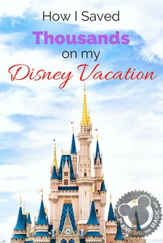 Learn how to save money during your Disney World trip exactly the way I did.  Disney on a budget is always the way to go.  Find more information at www.planningthemagic.net