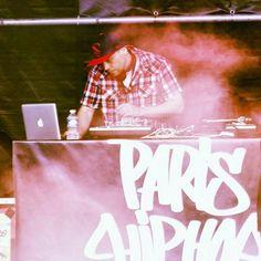 Paris hiphop warm up la fouine
