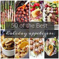 50 of the Best Appetizers for the Holidays that will impress your guests. From easy to elegant we have you covered. Looking for some more holiday food inspirations? Check out 50 of the Best Holiday Cookies, 50 of the Best Holiday Candies and 50 of the Best DIY Christmas Decorations. For me the hardest party of …