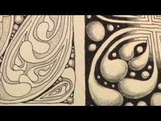 "Rick Roberts and Maria Thomas, founders of Zentangle®, show how to tangle ""mooka.""    Zentangle is an easy to learn and relaxing method of creating beautiful images from repetitive patterns. We believe life is an art form and that Zentangle is an elegant metaphor for deliberate artistry in life."