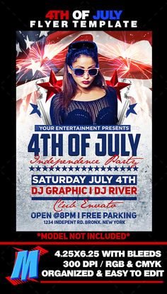 A5 celebration creative dl eps event flyer holiday of july flyer template spiritdancerdesigns Image collections
