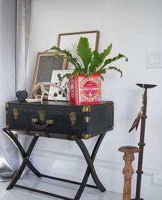 23 fabulosas ideas para reciclar maletas viejas que te encantarán   #MaletasViejas #ReciclarMaletas #DecoracionCreativa #Creatividad