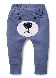 Baby Boys Pants & Shorts   Bear Bum Trackie   Seed Heritage