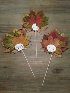 Autumn leaves - creative decoration and handicraft ideas - house decoration more - Fall Crafts For Kids Kids Crafts, Fall Crafts For Kids, Toddler Crafts, Preschool Crafts, Diy For Kids, Diy And Crafts, Arts And Crafts, Paper Crafts, Fall Preschool
