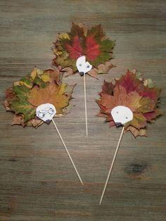 Blätter-Igel