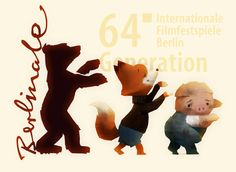 Illustration from The Dam Keeper's world premiere at the Berlinale International Film Festival.