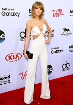 Taylor Swift Wears Sexy Cutout Jumpsuit at 2015 Billboard Music Awards - Us Weekly