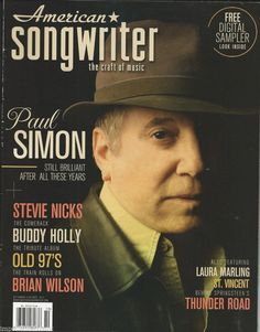 Paul Simon in American Songwriter magazine