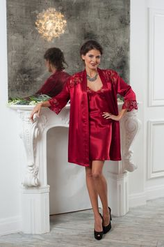 Coemi 2014 satin robe