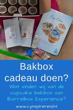 Wil je een Bakbox cadeau doen? Mijn dochter en ik zijn gek op bakken! Vanzelfsprekend sprongen wij een gat in de lucht toen we van Borrel Experience de cupcake bakbox uit mochten proberen. In deze review lees je alles over de inhoud van de bakbox, hoe we de cupcakes maakten en wat we ervan vonden. Bakkers klaar? Bakken maar! #bakkenmetkinderen #bakbox Blog, Whipped Cream, Seeds, Blogging