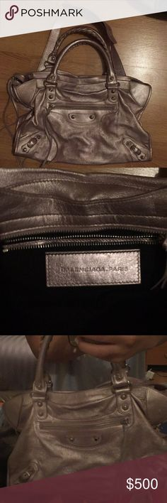 Balenciaga Motocross Classic City Bag Balenciaga tote bag, lightly worn. Was purchased on the realreal but has not been used since. Receipt of purchase included in pictures. Balenciaga Bags Totes
