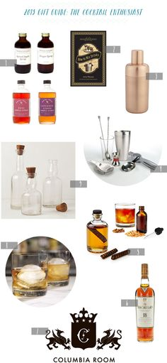 2013 Gift Guide: The Cocktail Enthusiast