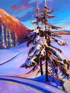 Stephanie Gauvin is a contemporary landscape painter, a Signature member of the Federation of Canadian Artists out of British Columbia. Early Bird, Contemporary Landscape, Canadian Artists, British Columbia, Mountains, Canvas, Illustration, Prints, Travel