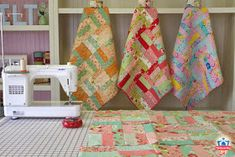 American Pie Designs by    Melanie Pinney: FREE PATTERN! - Check Out the Jelly Roll Jam Quilt!