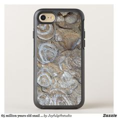 Shop 65 million years old snail fossil texture - OtterBox iPhone case created by Joyfulgiftstudio. Iphone 8, Iphone Cases, Samsung Cases, Snail, Year Old, Fossil, Texture, Store, One Year Old