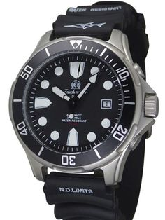 Tauchmeister Miyota 8215 Automatic Dive Watch, 43mm Case #T0303