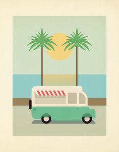 Its Summer Time by eslam abou el-enien, via Behance