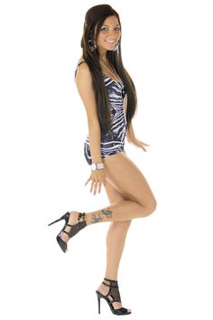 X-Ray Skeleton Black Swimsuit,  - Sexyback Boutique - 3