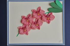quilling - Orchid
